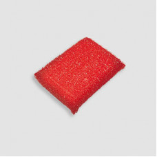 Губка для мытья  тефлона в пластиковой оплетке
