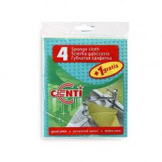 Салфетки YORK AZUR губчатые  4+1шт