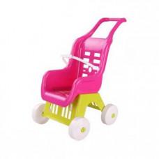 Коляска детская для кукол (розовый)