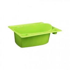 Ванна детская со сливным отверстием (салатовый)