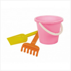 Набор детский №2 (грабли, лопатка, ведерко)