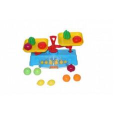 """Игровой набор """"Весы"""" + Набор продуктов (12 элементов) (..."""