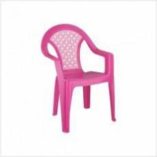 """Кресло детское """"Плетёнка"""" (розовый)(уп.5)"""