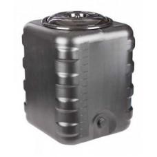Бак 150л для душа квадратный  (чёрный)