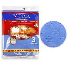 Салфетки YORK PREMIUM 3 шт со свойствами хлопка