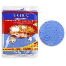 Салфетки YORK PREMIUM 4+1 со свойствами хлопка