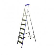 Стремянка широкие 7 ступеней (металл)