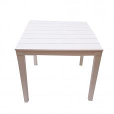 Стол квадратный Прованс цвет белый