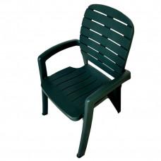 Кресло Прованс (ЭЛП) цвет темно-зеленый
