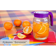 """Кувшин """"Бочонок"""" (бирюза) 1,55л"""
