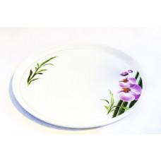"""Блюдо для пиццы 300мм """"Бамбуковая орхидея"""""""