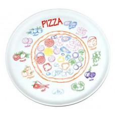 """Блюдо для пиццы 300 мм """"Пицца"""""""