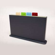 Набор разделочных досок на подставке (вертикальный)