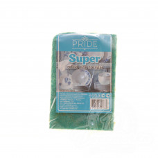 Губка бытовая с чистящим слоем Super (1 шт)